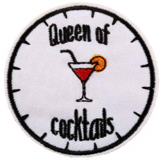 Queen of Cocktails Iron-On Patch