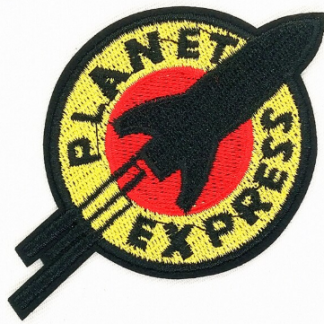 Futurama Planet Express Iron-On Patch