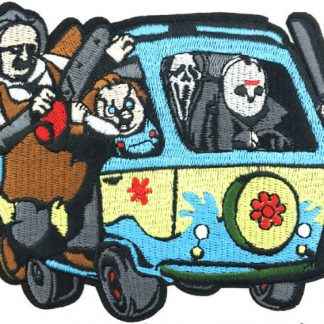 Horror Scooby Gang Iron-On Patch