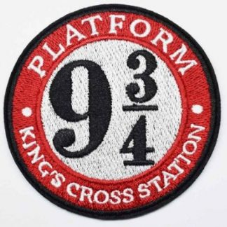 Harry Potter Kings Crossing Station 9 1/2 Iron-On Patch