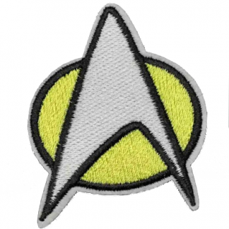 Star Trek Insignia Iron-On Patch