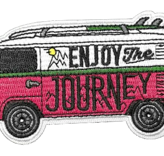 Enjoy The Journey Iron-On Patch