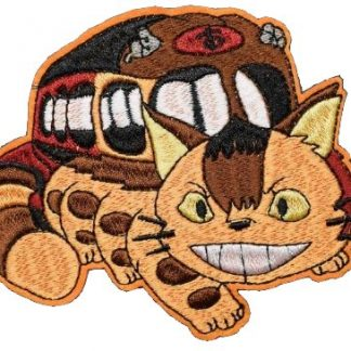 Totoro Catbus Iron-On Patch