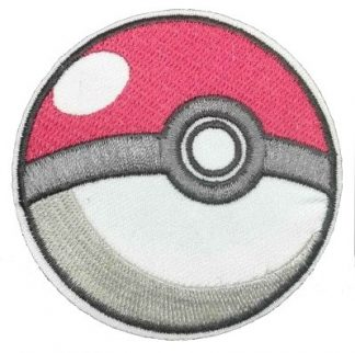 Pokemon Poke Ball Iron-On Patch