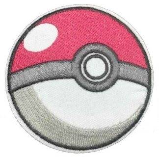Pokemon Poke Ball Iron-On Patch