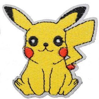 Pokemon Pikachu Iron-On Patch