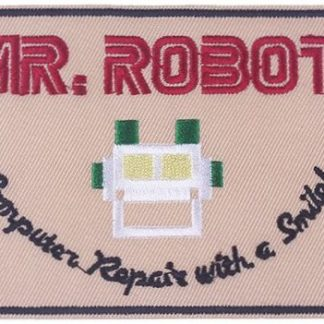 Mr Robot Iron-On Patch