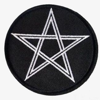 Pentagram Iron-On Patch #1
