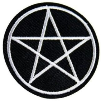 Pentagram Iron-On Patch #2