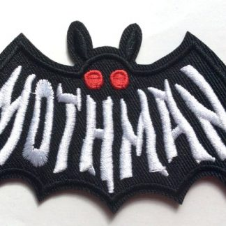 Mothman Iron On Patch