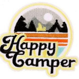 Happy Campers Iron-On Patch