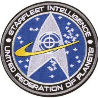 Star Trek Starfleet Intelligence Iron-On Patch