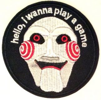 Saw Billy Iron-On Patch
