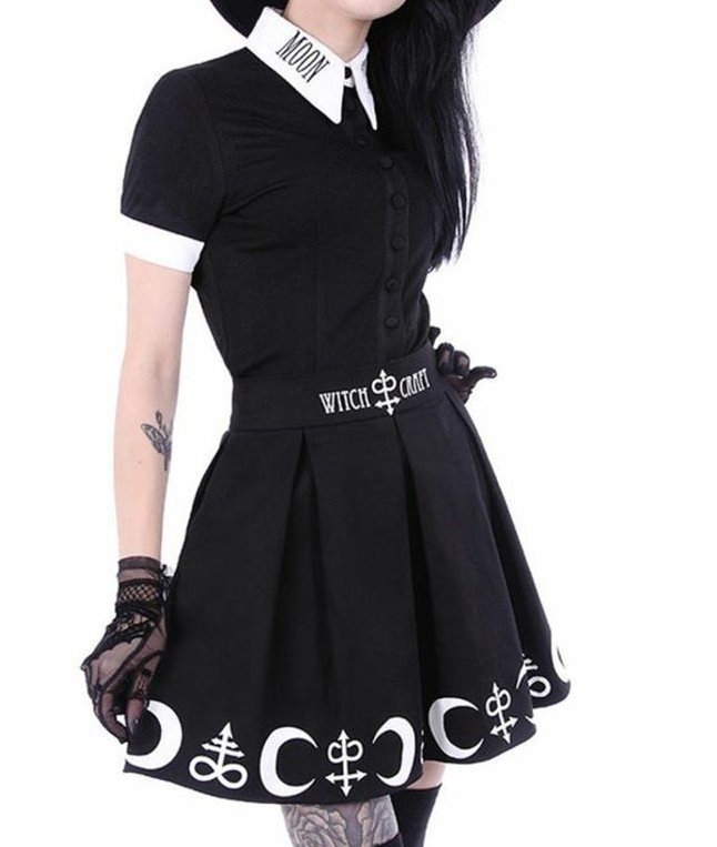 Witchcraft Mini Skirt & Moonchild C