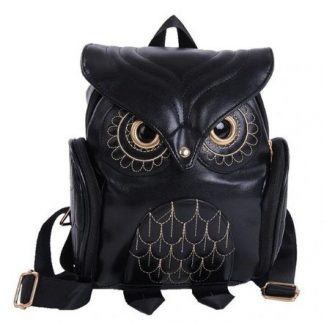 Owl Backpack Style Purse