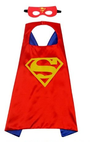 Kids Superman Cape & Mask Set