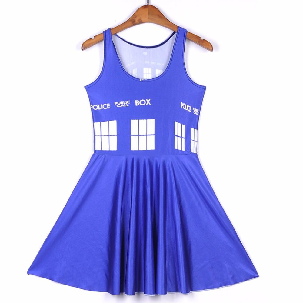 Doctor Who Tardis Skater Dress #2