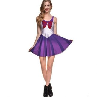 Sailor Moon Sailor Saturn Skater Dress