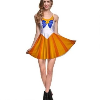 Sailor Moon Sailor Venus Skater Dress