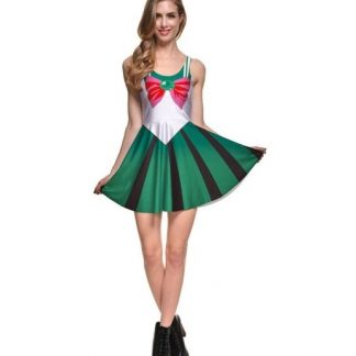 Sailor Moon Sailor Jupiter Skater Dress