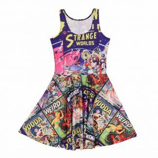 Strange Worlds Skater Dress