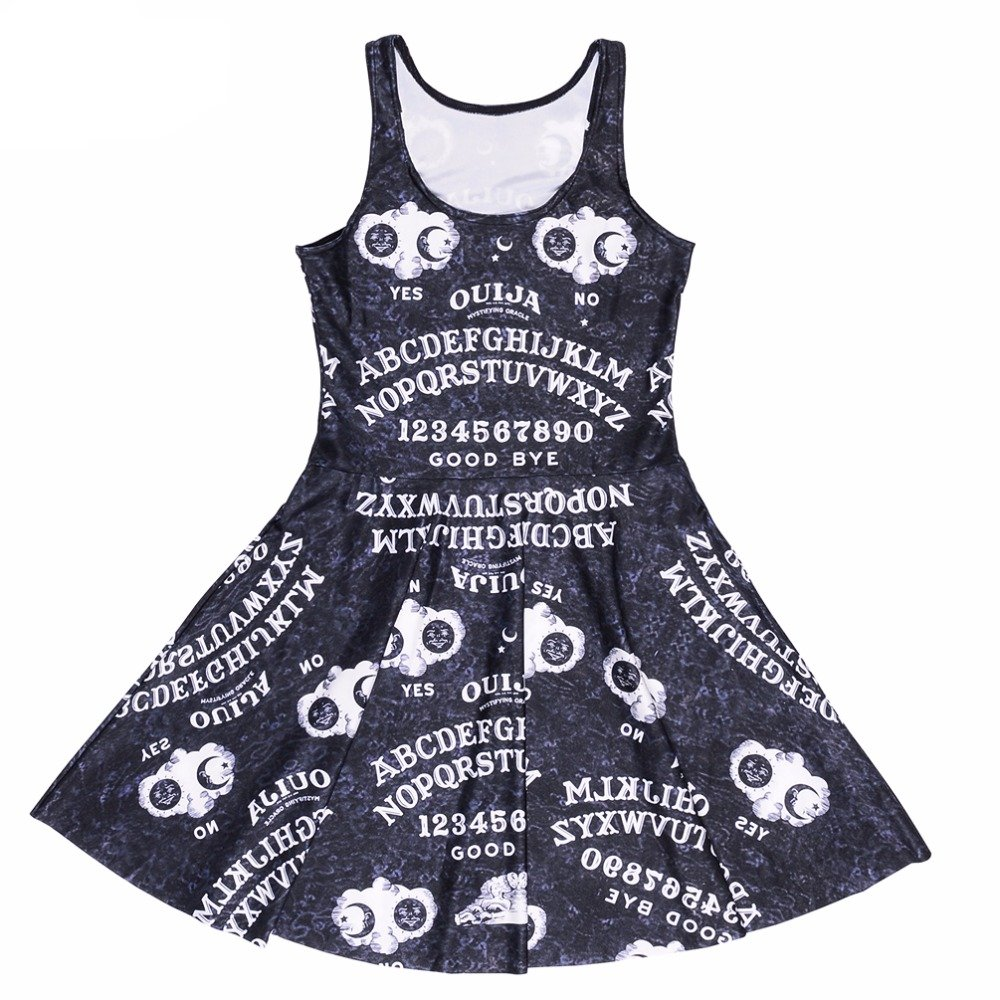 Ouija Board Skater Dress