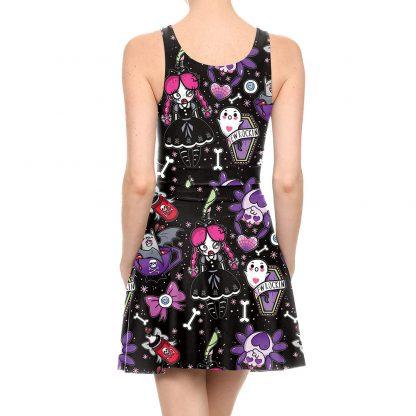 Spooky 'N Sweet Skater Dress