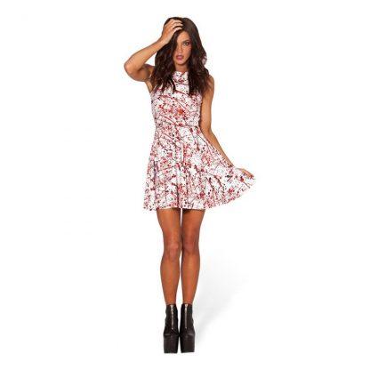 Blood Spatter Skater Dress