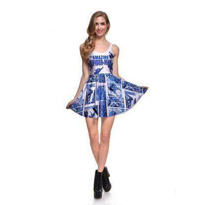 The Amazing Spiderman Skater Dress