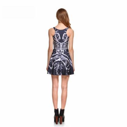 It's My Skeleton Skater Dress