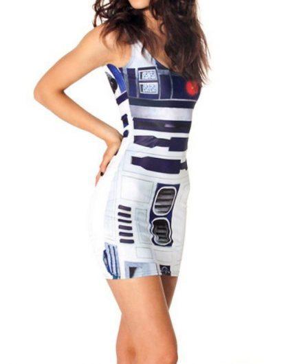 Star Wars R2-D2 Body Con Mini Dress