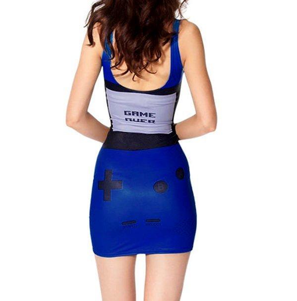 Gamer Body Con Mini Dress