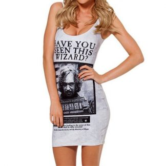 Harry Potter Sirius Black Body Con Mini Dress