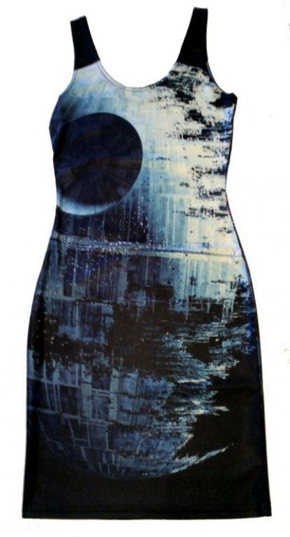 Star Wars Death Star Body Con Mini Dress