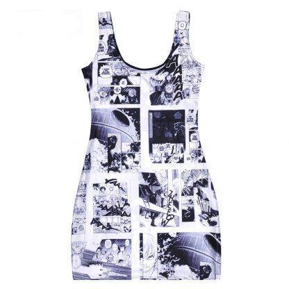 Anime Style Star Wars Body Con Mini Dress