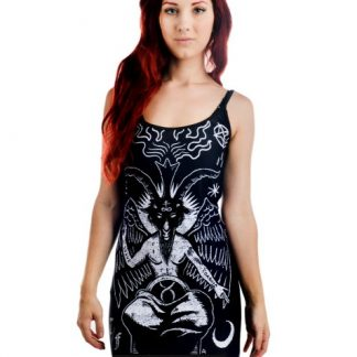 Baphomet The Devil Strappy Dress