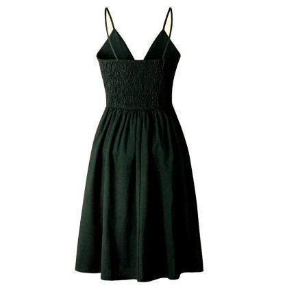Peek-A-Boo Summery Sun Dress