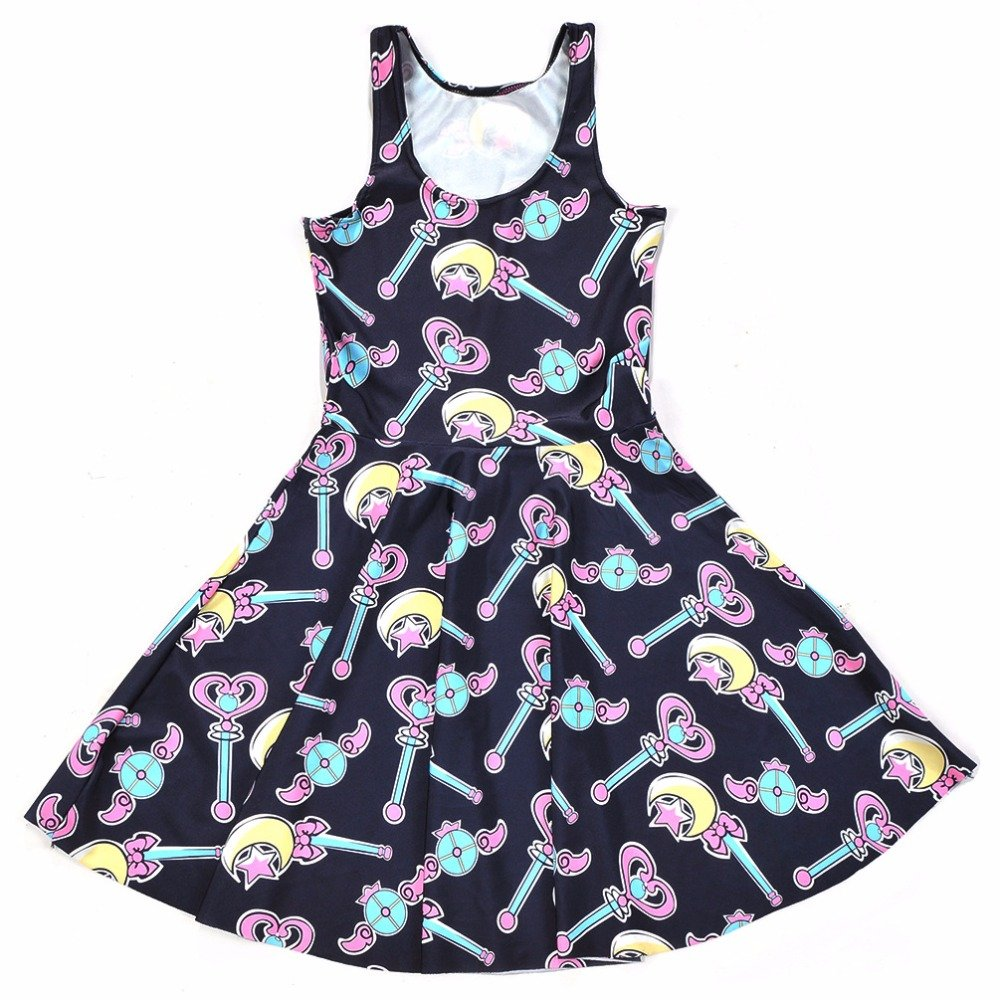 Sailor Moon Magic Wand Skater Dress
