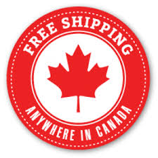 Free shipping within Canada!