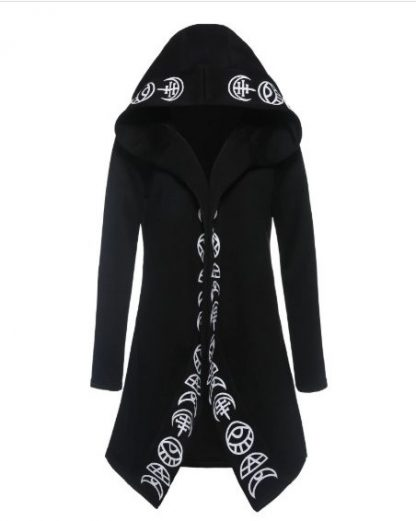 Witchcraft Long Hoodie-Coat