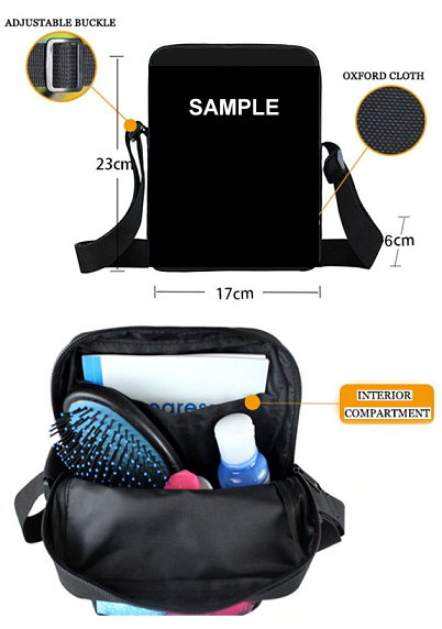 Mini-Messanger Bags - Specifications