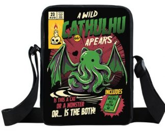 Wild Cathulhu Messenger Bag
