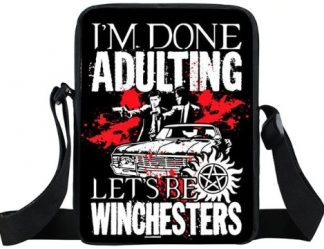 I'm Done Adulting Supernatural Mini Messenger Bag