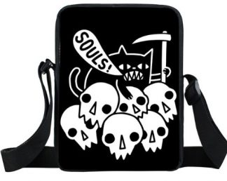 Cat Souls Mini Messenger Bag