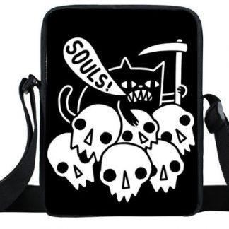 Cat Souls Mini Messenger Bag
