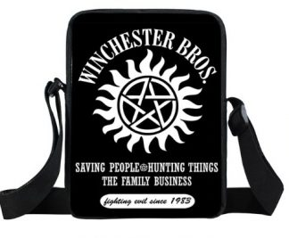 Winchester Bros Supernatural Mini Messenger Bag