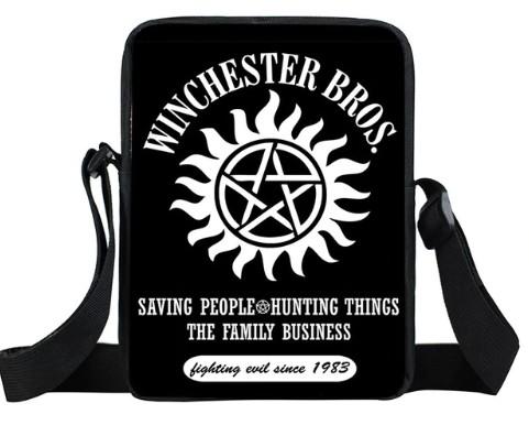 Winchester Bros Supernatural Mini Messenger Bag