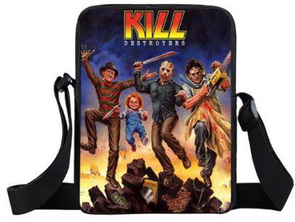 Kill Destroyer Mini Messenger Bag