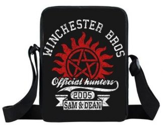 Winchester Bros Official Hunters Supernatural Mini Messenger Bag