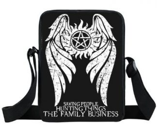 Saving People Supernatural Mini Messenger Bag